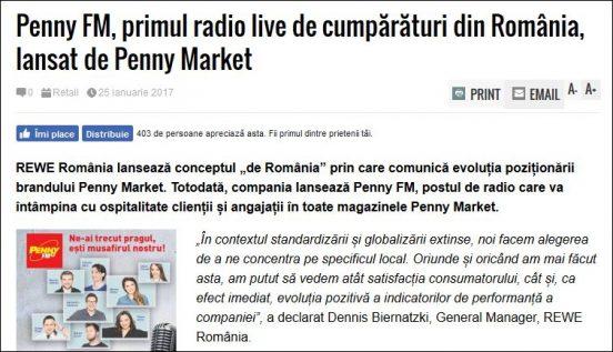 radio penny