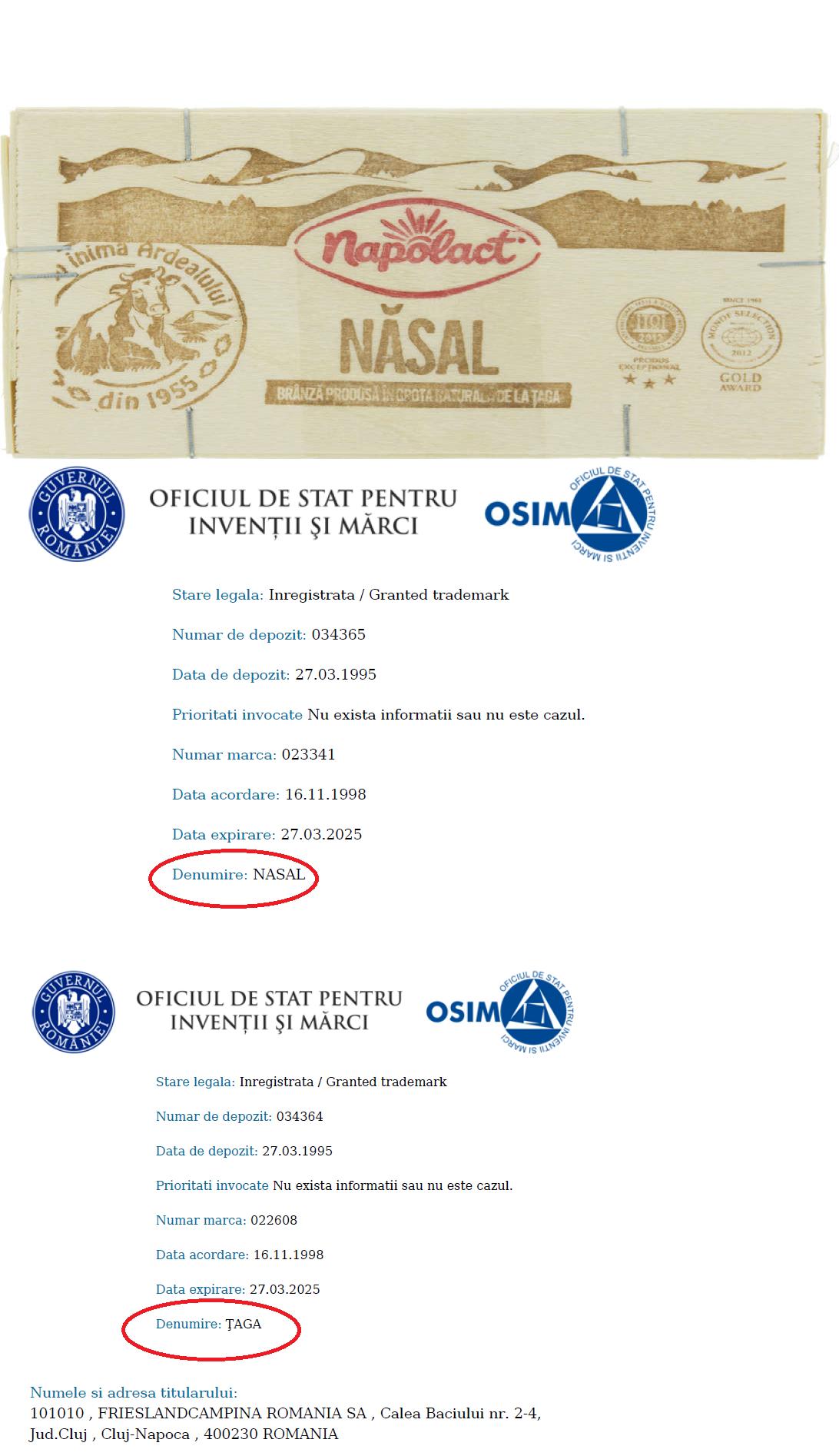 Taga sau Nasal OSIM